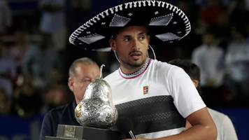 nick kyrgios wins mexican open after beating alexander zverev