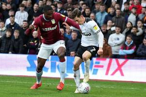 Why Harry Wilson did not start for Derby County against Aston Villa