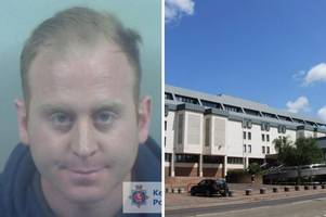 a knife-wielding chatham robber lured victim into car after seeing him win money