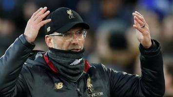 'who wants to be top in march?' - klopp 'completely fine' chasing man city