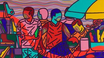'i was told painting is for lazy people': cameroon's ajarb bernard ategwa
