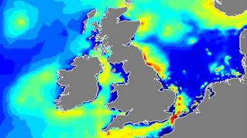 cefas scientists create first uk map of shipping 'noise'