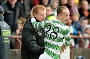 celtic star leigh griffiths receives positive message from neil lennon