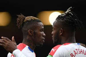 wilfried zaha reveals what he said to michy batshuayi as chelsea man impresses on loan at palace