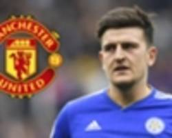 rodgers aware that man utd may move for maguire but is not worried by transfer talk