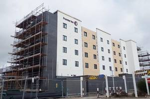 opening date revealed for premier inn in skegness as first pictures show what it looks like