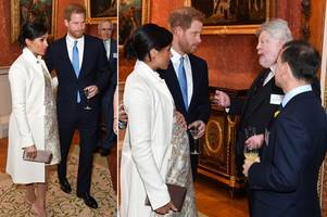 meghan markle and kate middleton in rare joint visit at queen's party for charles