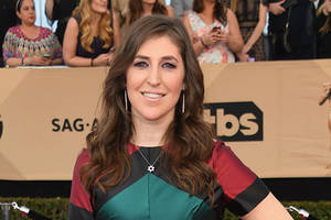 'big bang theory' star mayim bialik accused of mocking a fan's painting of her