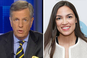 fox news' brit hume calls alexandria ocasio-cortez 'adorable' and 'like a 5-year-old'