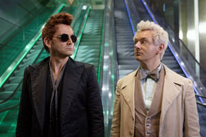 'good omens' trailer: can an angel and demon stop the end of the world? (video)