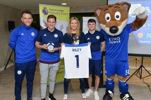 why tv's rachel riley was at leicester city's king power stadium