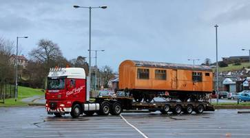 brexit fears mean historic train car moved over irish border early