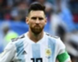 messi returns to argentina squad for first time since 2018 world cup