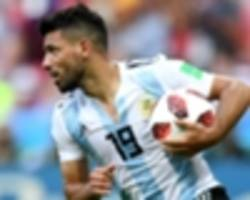 scaloni insists aguero relationship is 'perfect' after another argentina snub