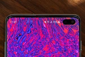 The best part of the Galaxy S10's hole punch is the potential for wallpapers
