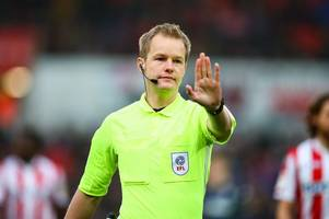 this man will referee qpr vs stoke city - and potters fans should be delighted