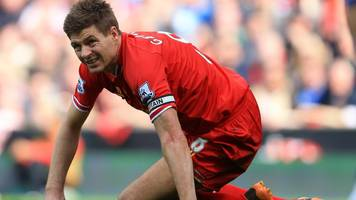 gerrard still haunted by crucial slip as liverpool lost 2014 title