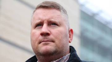 britain first boss paul golding to fight hate crime charges in ballymena