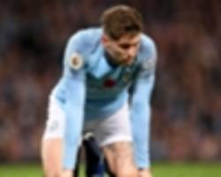 de bruyne & stones still sidelined for man city as guardiola waits on laporte call