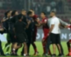 isl 2018-19: northeast united lodge complaint against bengaluru fc's dimas delgado & gerard zaragoza