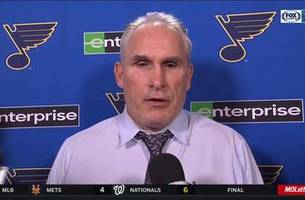 berube impressed with allen's shutout: 'i've said we're going to need two goalies'