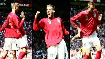peter crouch: burnley striker quizzed on bringing back his famous 'robot' celebration