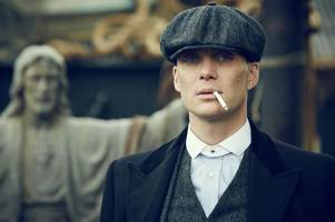 cillian murphy's peaky blinders cap and coat are going up for auction