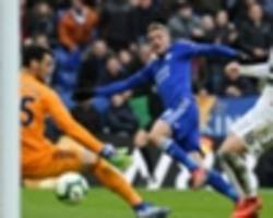 leicester city 3 fulham 1: vardy reaches landmark in foxes win