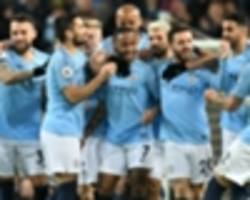 manchester city 3 watford 1: sterling treble boosts champions' lead