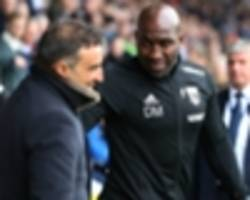west brom sack moore despite promotion playoff position