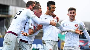 dundee 0-1 hearts: sean clare secures win against premiership strugglers
