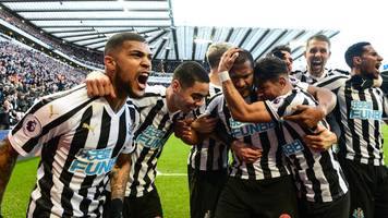 newcastle 3-2 everton: ayoze perez double sees hosts storm back to secure vital win