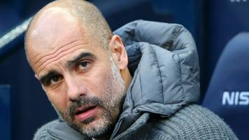 pep guardiola says it is 'almost impossible' for manchester city not to drop points