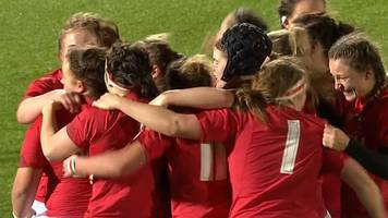 Women's Six Nations: Scotland 15-17 Wales - Last-minute try give Wales win