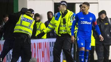 five men charged over alleged disorder at rangers v hibernian