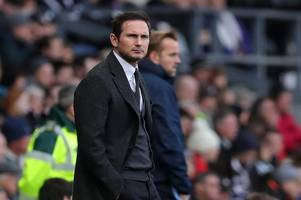 frank lampard has his say on derby county's draw with sheffield wednesday