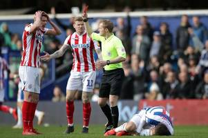 stoke city man banned for derby, reading and sheffield wednesday games after idiocy at qpr