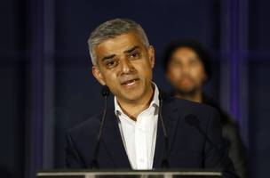 London Mayor Sadiq Khan named UK Politician of the Year