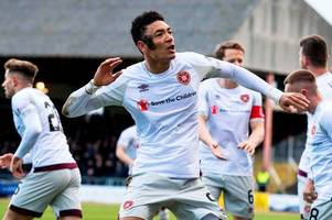 dundee 0 hearts 1 as sean clare shines to give misfiring jambos a boost