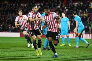 the reason for julian jeanvier's late withdrawal as brentford face middlesbrough