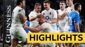 six nations 2019: england dominate italy 57-14 at twickenham and keep their championship hopes alive