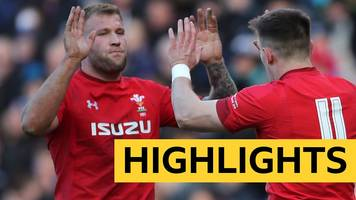 six nations 2019: wales beat scotland 18-11 to edge closer to the grand slam title