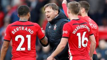 southampton's stunning win dents spurs' top-four hopes