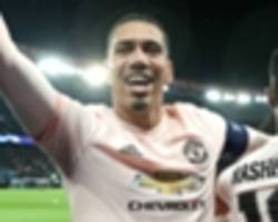 smalling: man utd belief couldn't be any higher heading into arsenal clash