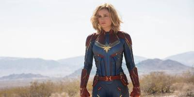 'captain marvel' had the third-biggest march opening weekend in movie history, bringing in $153 million (dis)