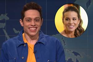 pete davidson shades those with 'crazy fascination' over age gap with kate beckinsale (video)