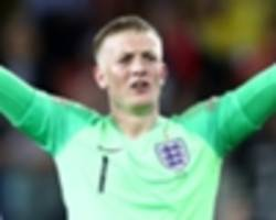 'pickford is still england's first choice' - everton keeper backed despite poor form