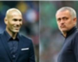 real madrid players pushed for zidane over mourinho, claims calderon