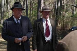 'the highwaymen' film review: woody harrelson and kevin costner as the cops who chase bonnie and clyde