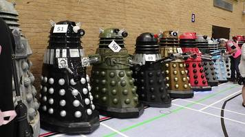 daleks gather in bid to exterminate world record